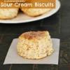 Cinnamon Pecan Sour Cream Biscuits