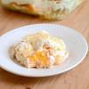 Layered Peaches and Cream Dessert