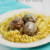 Peppered Meatballs with Dill Sauce