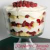 Raspberry Cheesecake Trifle