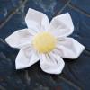 Fabric Flower Hair Clip or Brooch Tutorial