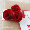 Rolled Paper Roses {Tutorial}