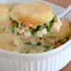 Chicken and Biscuits Casserole