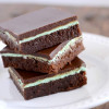Mint Brownies To Die For