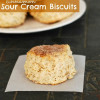 Cinnamon Pecan Sour Cream Biscuits