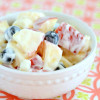 Easy Sour Cream Fruit Salad