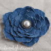 Upcycled Denim Flower Tutorial
