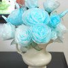 Paper Roses from Coffee Filters