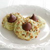 Pistachio Kiss Cookies {Christmas Cookie Recipe}