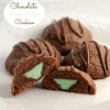 Chocolate Mint Truffle Cookies
