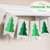 Easy Christmas Decor: Christmas Tree Banner