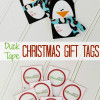 Printable Christmas Gift Tags with Duck Tape®