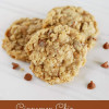 Cinnamon Chip Toffee Oatmeal Cookies