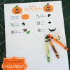 Roll a Pumpkin Halloween Game {Free Printable}