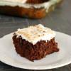 Coconut Chocolate Zucchini Cake