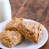 Maple Nut Oatmeal Scones