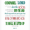 Ponderize: Counsel with the Lord