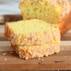 Eggnog Quick Bread with Crumb Topping