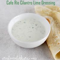 Cafe Rio Cilantro Lime Salad Dressing