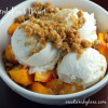 Yummy Fresh Peach Dessert