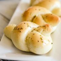 Soft Garlic Knots