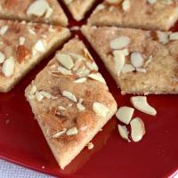 Cinnamon Sugar Almond Bars- Jan Hagels Recipe