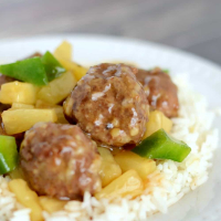 Waikiki Sweet and Sour Meatballs