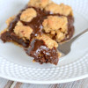 Decadent Oatmeal Fudge Bars