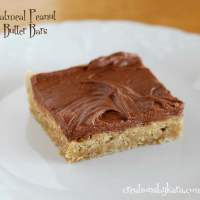 Chocolate Oatmeal Peanut Butter Bars