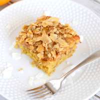 Coconut Orange Coffee Cake