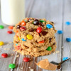 Oatmeal Peanut Butter Monster Cookies {Gluten Free}
