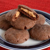 Chocolate Peanut Butter Cookies (Magic Middle Cookies)