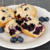 Blueberry Muffins with Whole Wheat