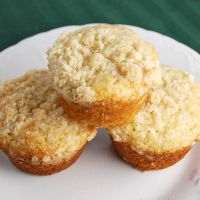 Lemon Apple Muffins