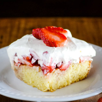 Blue Ribbon Strawberry Cake Recipe
