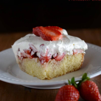 Blue Ribbon Strawberry Cake
