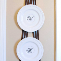 How To Hang Plates without Plate Holders