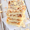 Almond Toffee Bars