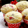 Chocolate Chip Cranberry Muffins Recipe