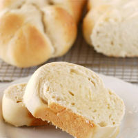 Golden White Bread Braid