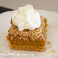 Fast and Easy Pumpkin Dessert