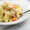Skillet Chicken Noodle Casserole
