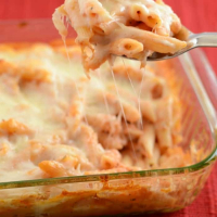 Cheesy Italian Pasta Bake