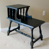 DIY Furniture Refinishing-Spray Paint Style