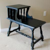 DIY Furniture Refinishing-Spray Paint Style