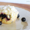 Blueberry Muffins with Crumb Topping