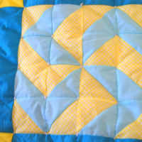Inside Out Tied Quilt Tutorial