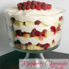 Raspberry Cheesecake Trifle