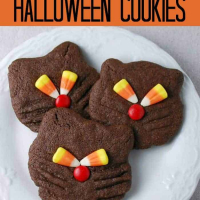 Halloween Recipe-Black Cat Cookies