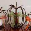 Simple Ribbon Embellished Pumpkins